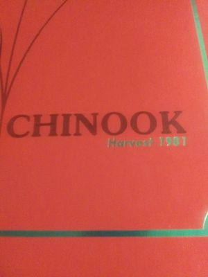 1981 Chinook high school year book for Sale in Lake Stevens, WA