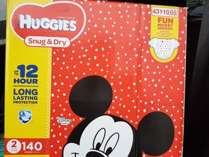 Huggies Size 2 diapers for Sale in Biloxi, MS