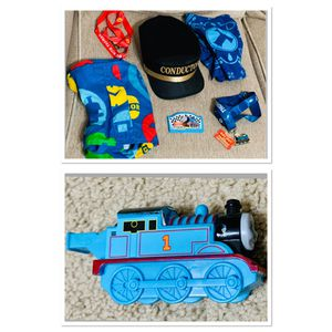 Thomas the Train Lot - Lanyards Whistle Bandanas Conductor Hat Carrying Case for Sale in Round Rock, TX
