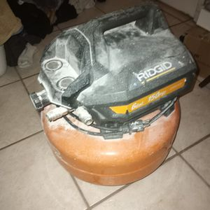 Ridged Air Compressor 6gal for Sale in Oviedo, FL