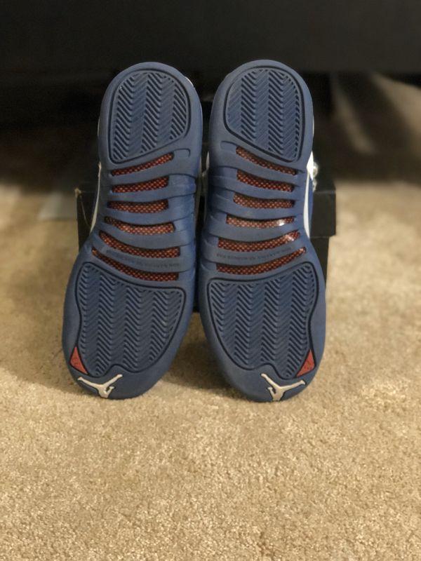 Nike Air Jordan 12 Retro GS French Blue Size 5Y