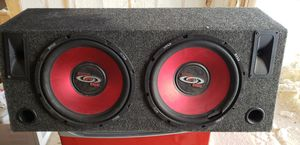 Subwoofer with amplifier Boss Audio CHAOS EXXTREME CX1000 Car Amplifier - 2000 W PMPO - 4 for Sale in Schaumburg, IL