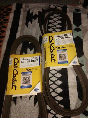 "CUB CADET 46"" DECK DRIVE BELT for Sale in Orlando, FL"