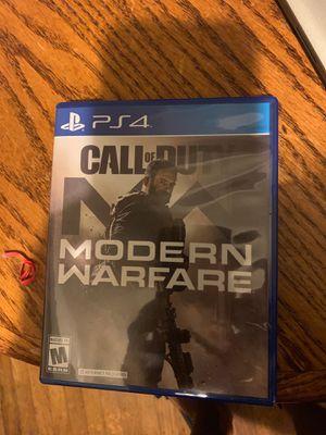 Call of duty modern warfare ps4 for Sale in Oakland, CA