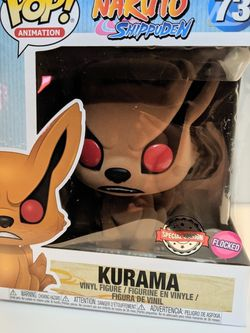 Kurama Flocked Special Edition 6 Inch Funko Pop for Sale in Hacienda Heights,  CA