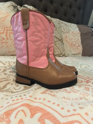 Toddler girl western boots for Sale in Houston, TX