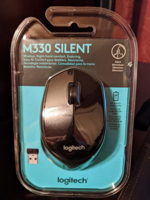 Logitech M330 Silent Wireless Mouse for Sale in Boston, MA