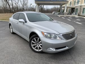 2007 Luxury Lexus LS 469 Ya title Rebuilt ☝ Miles 119000 Drive unbelievable look great it's luxury car fully Loaded Has leather seat ,power seat , he for Sale in Columbus, OH