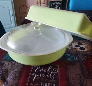 Lime Green Pyrex Dish Bake Set for Sale in Phoenix, AZ