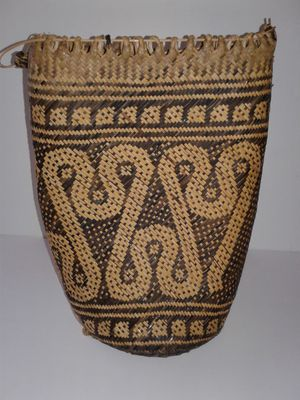 RATTAN BACKPACK/PURSE Attractive purse not sure how durable it is. Use it or display it, $5.00 for Sale in Manteca, CA