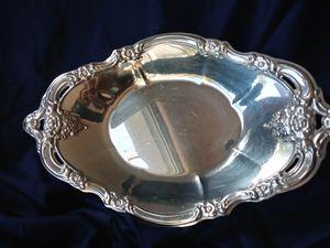 Community Silver Plate Dish for Sale in La Mirada, CA