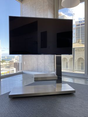 Cattelan Italia Hollywood TV stand/ stainless steel modern minimalist for Sale in Miami, FL