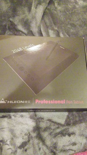 HuIon Professional pen tablet for Sale in Gassaway, WV