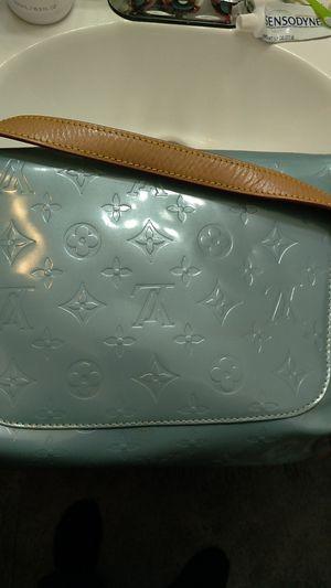 Patent Leather Vintage Louis Vuitton shoulder bag with key pouch. for Sale in Warren, MI