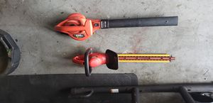 Electric Blower and Hedge Trimmer for Sale in Pompano Beach, FL