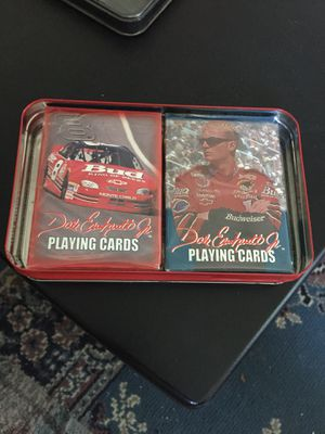 Dale jr playing cards for Sale in Bedford, VA