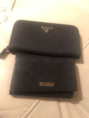 Gucci wallet only. Prada is sold for Sale in Norfolk, VA