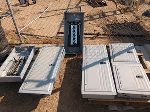 Outdoor electrical breaker panels/ and all kinds of different Breakers for Sale in Phelan, CA