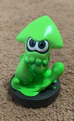 Green Inkling Squid Amiibo (Nintendo Wii U / Nintendo Switch) for Sale in Los Angeles,  CA
