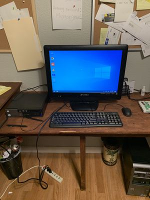 Great working complete desktop computer 160 you pick up for Sale in Lincoln, CA