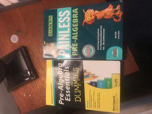 Pre algebra books for Sale in Virginia Beach, VA