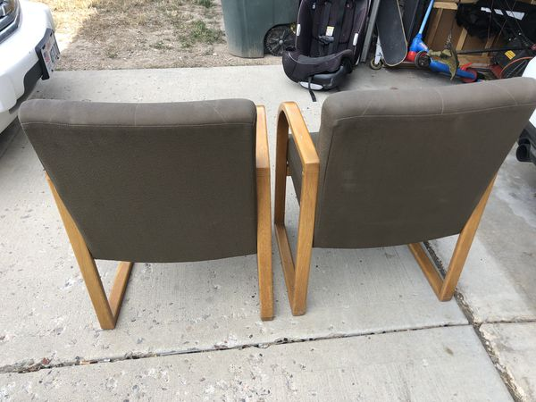 USED OFFICE CHAIRS $10 FOR BOTH