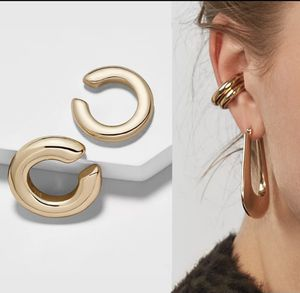Bold gold thick hoop gold ear cuff set for Sale in Clearwater, FL