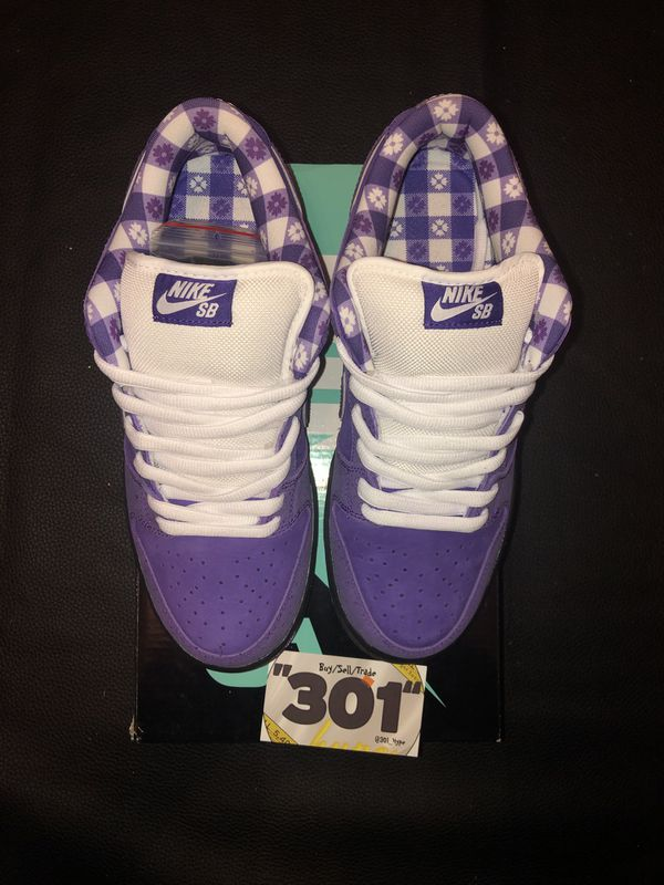 "Nike Sb dunk low ""purple lobsters"""