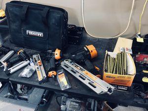 Freeman variety nail gun kit. for Sale in Alexis, NC
