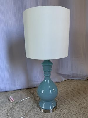 Beautiful Glass Lamp with shade for Sale in Cypress, CA