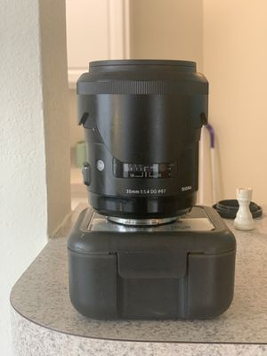 Sigma 35mm F1.4 ART DG HSM Lens for Sony A for Sale in Rockville, MD