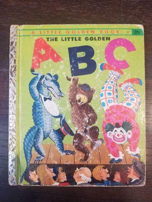 Little Golden Book The Little Golden A B C #101 1951 for Sale in Lexington, SC