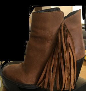Steve Madden Fringe Heel Booties for Sale in Oakland, CA