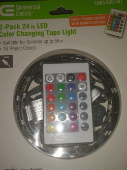 Commercial Electric 24in Led Color Changing Lights for Sale in Phoenix,  AZ