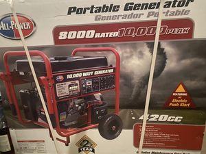 $ 1,100.00, Power 420cc home/emergency generator. 8,000-10,000 watt peak for Sale in Arvada, CO