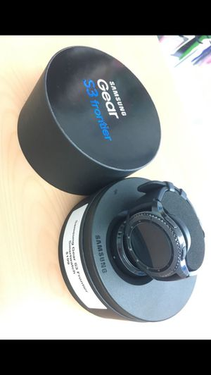 Samsung gear s3 Frontier for Sale in Portland, OR