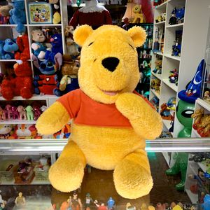 Fisher-Price Mattel Disney My Talking Winnie The Pooh Plush Stuffed Animal Toy Doll LARGE 19 Inch Seated 2001 for Sale in Elizabethtown, PA