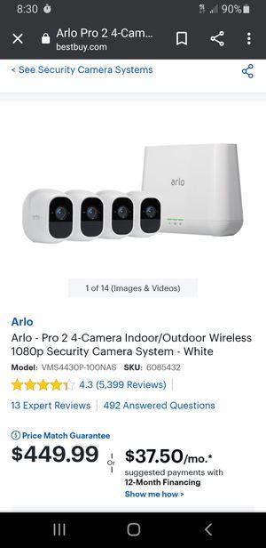 Arlo Pro 2 for Sale in Orange Grove, TX