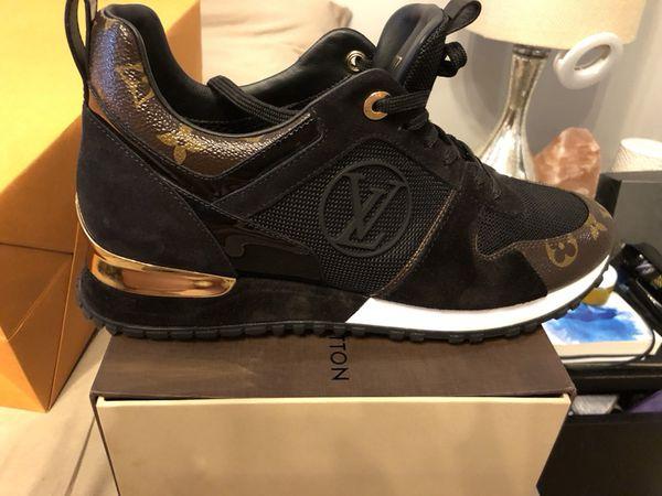 BNIB Rare Louis Vuitton Runaway Monogram Sz 39-1 2-sneakers Trainers ... ff71e6df8320