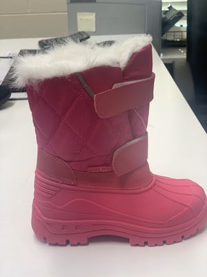 Snow boots for little girls size 7,8,9,10,11,12,13,1, kids for Sale in South Gate, CA