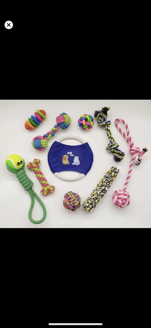 Brand new dog chew toys