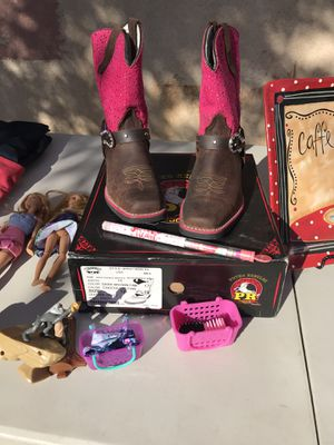 Girls boots size 12 for Sale in Albuquerque, NM