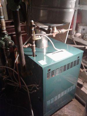 Burnham boiler for 140 btu for Sale in Cranston, RI
