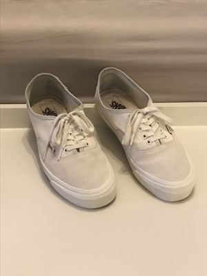 Vans Vault Authentic LX Cloud Dancer-Canvas and Suede-mens 10.5-No box for Sale in Bellflower, CA