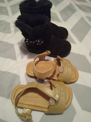 Toddler girl boots & sandals for Sale in Walnut Cove, NC