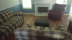 4 Piece Comfortable Furniture Set (All Must Go!) for Sale in Lawrenceville, GA