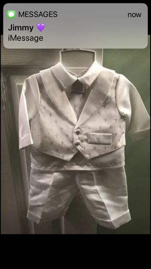 Baby boy baptism christening outfit for Sale for sale  Staten Island, NY