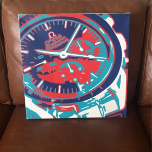 Omega Watch Wall Art for Sale in Issaquah, WA