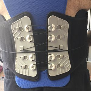 Back Brace for Lower Back Pain Relief for Men & Women -Comfortable Belt Support for Herniated Disc, Sciatica, and Scoliosis with Removable Lumbar Pain for Sale in Jamul, CA