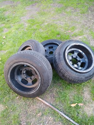 Rims for sale deep dish for Sale in Highland, CA